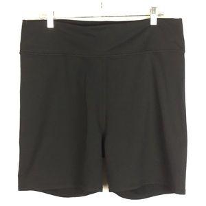 Fabletics Black Workout Shorts